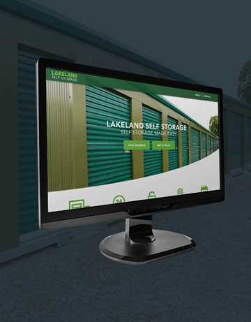 Lakeland Self Storage Website